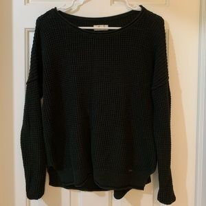 Hollister Black Crew Neck Sweater